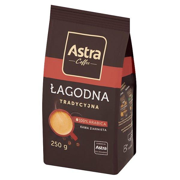 Astra Łagodna Tradycyjna kawa ziarnista 250 g