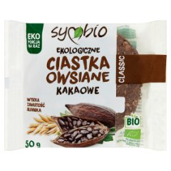 Symbio Ciastka owsiane ekologiczne kakaowe 50 g