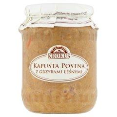 Krokus Kapusta postna z grzybami leśnymi 670 g