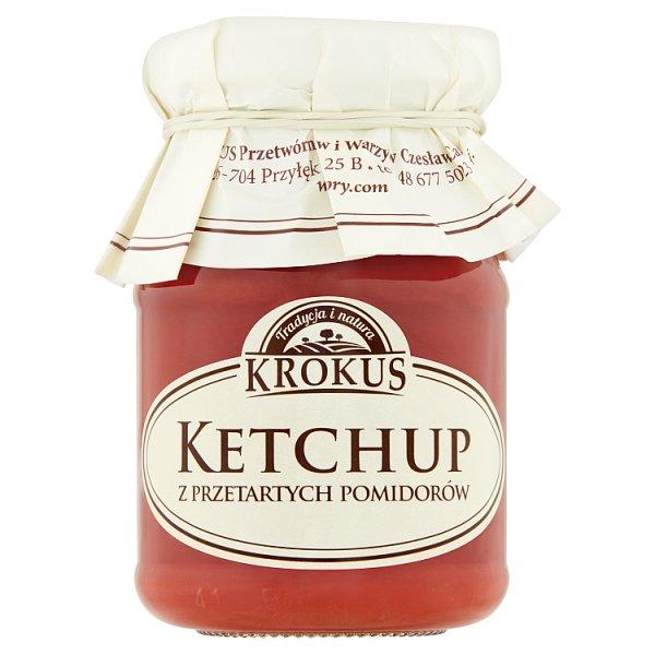 Krokus Ketchup z przetartych pomidorów 180 g