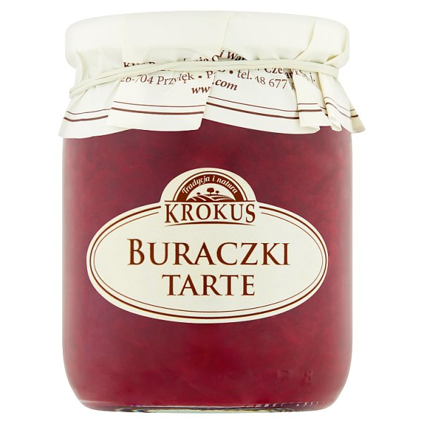 Krokus Buraczki tarte 500 g