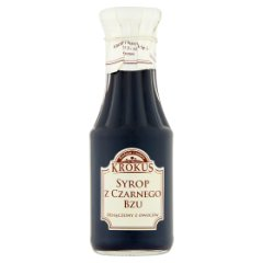 Krokus Syrop z czarnego bzu 300 ml