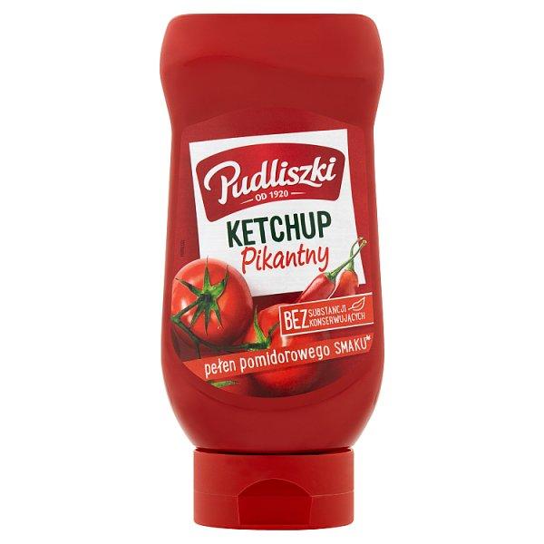 Ketchup Pudliszki pikantny