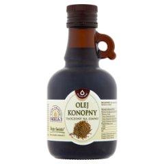 Oleofarm Olej konopny tłoczony na zimno 0,25 l