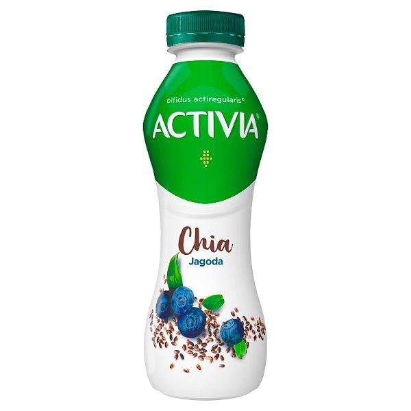 Danone Activia Jogurt chia jagoda 280 g