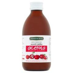 Premium Rosa Sok z owoców aceroli i jabłka 250 ml