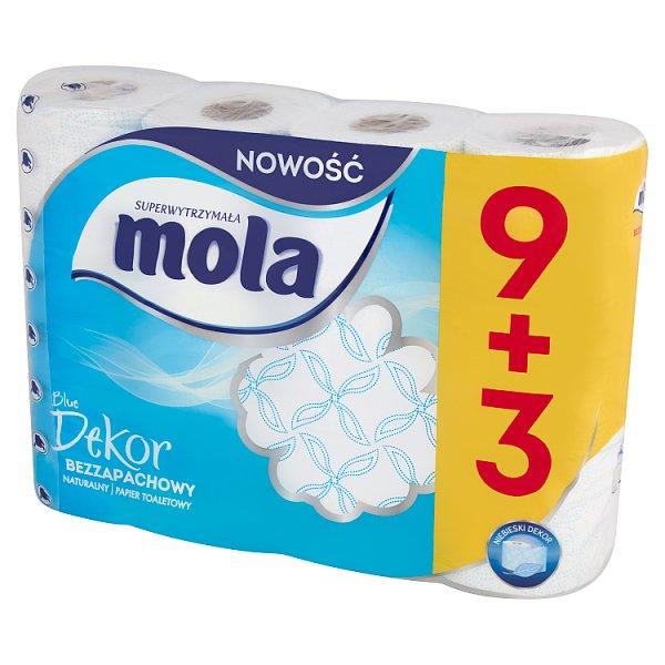 Mola Blue Dekor Papier toaletowy 12 rolek