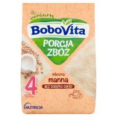 BoboVita Porcja Zbóż Kaszka mleczna manna po 4 miesiącu 210 g