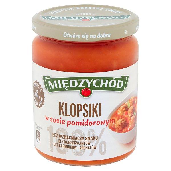 Międzychód Klopsiki w sosie pomidorowym 500 g