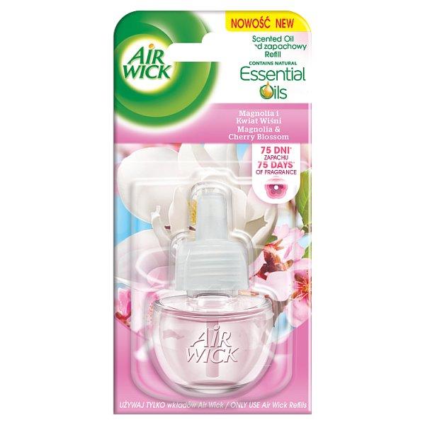 Air Wick Wkład do elektrycznego odświeżacza powietrza Magnolia i kwiat wiśni 19 ml