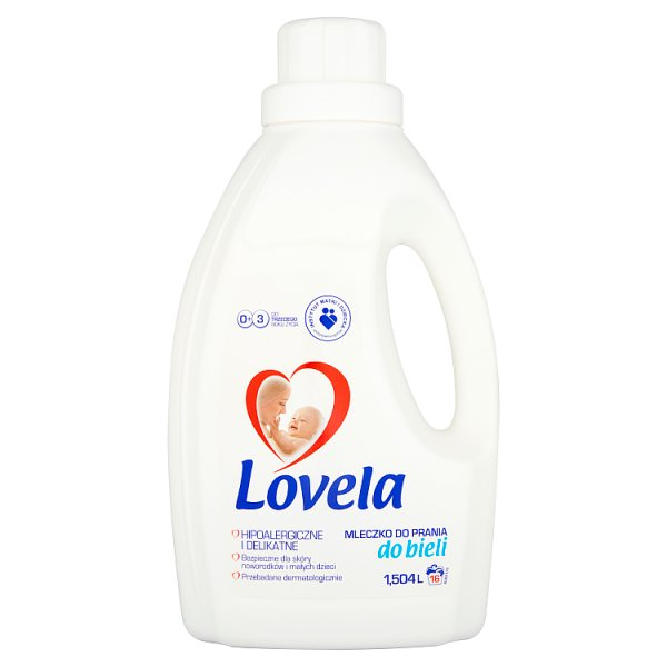Mleczko Lovela do prania