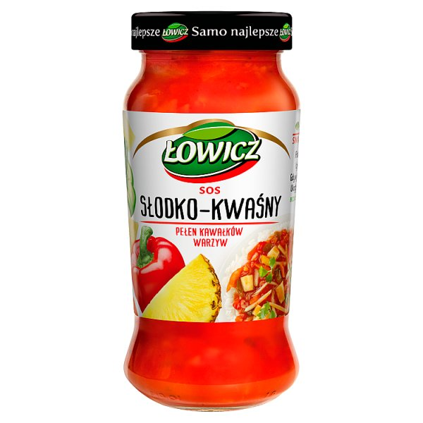 Sos Łowicz słodko-kwaśny