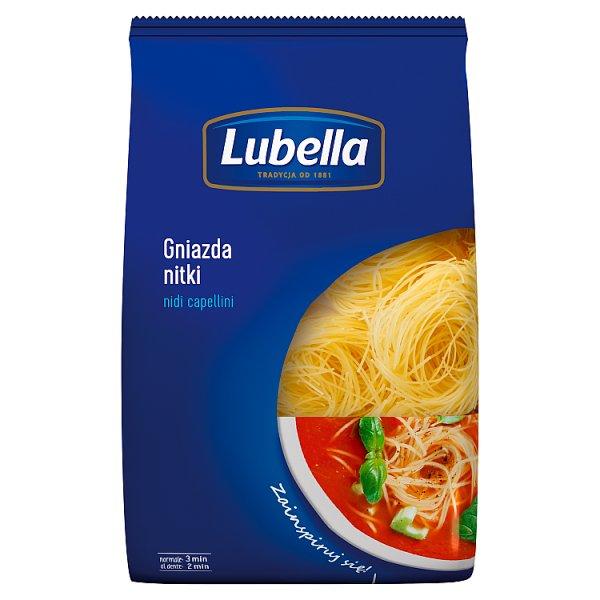 Lubella Makaron gniazda nitki nidi capellini 400 g