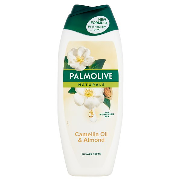Palmolive Naturals Camellia Oil & Almond Kremowy żel pod prysznic 500 ml