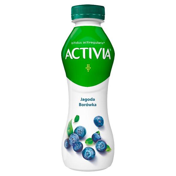 Jogurt Activia do picia jagoda-borówka