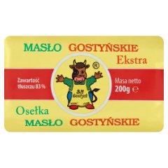 SM Gostyń Osełka masło gostyńskie ekstra 200 g