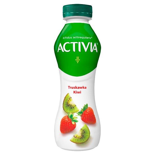 Danone Activia Jogurt truskawka kiwi 300 g