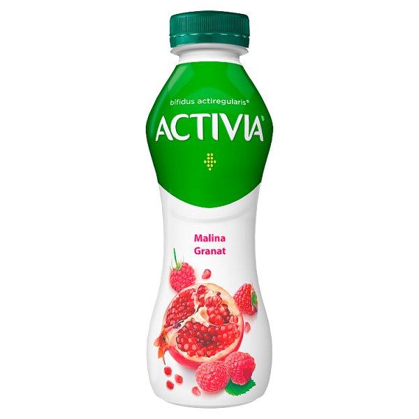 Danone Activia Jogurt malina granat 300 g