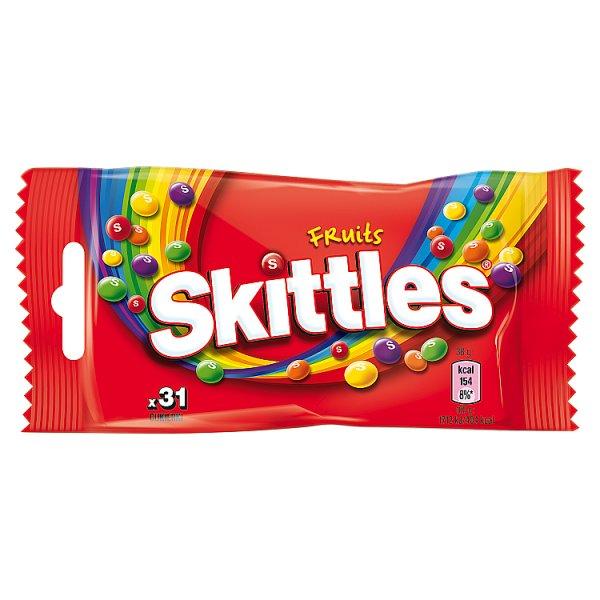 Cukierki Skittles Fruits o smaku owocowym