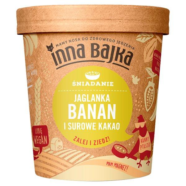 Inna Bajka Śniadanie Jaglanka banan i surowe kakao 65 g
