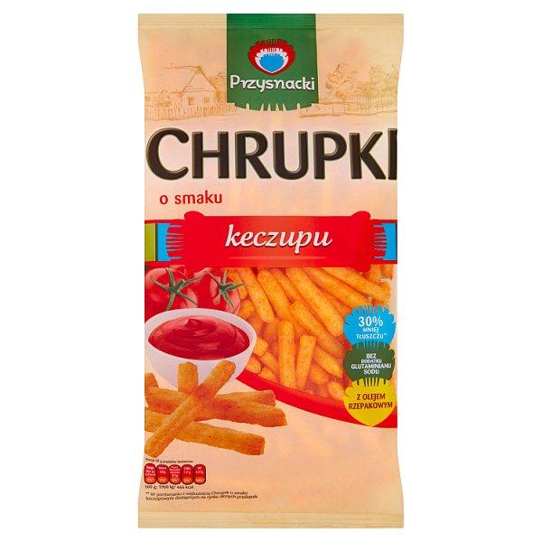 Przysnacki Chrupki o smaku keczupu 120 g