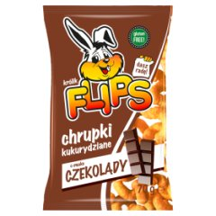 Chrupki Flips  czekoladowe