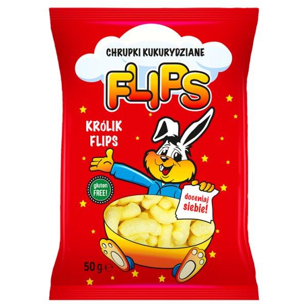 Chrupki kukurydziane Flips