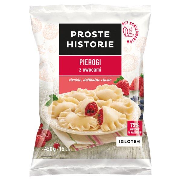 Proste Historie Pierogi z owocami 450 g (15 sztuk)