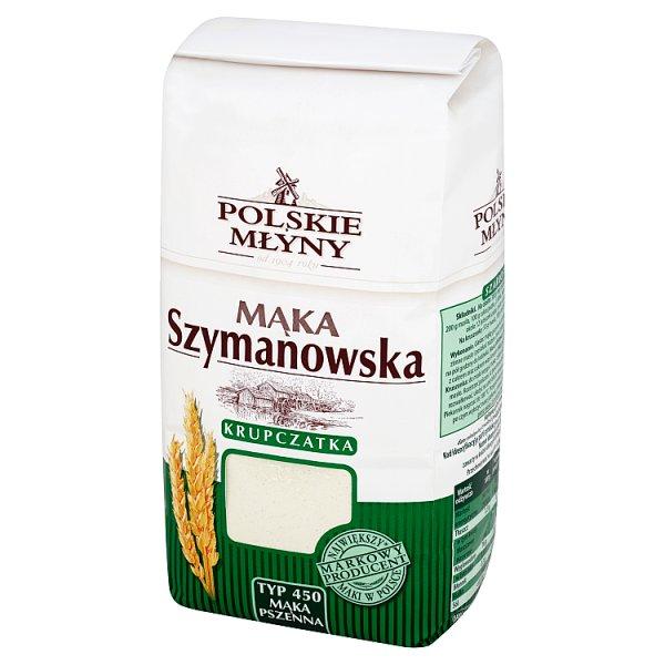 Polskie Młyny Mąka Szymanowska Krupczatka pszenna typ 450 1 kg