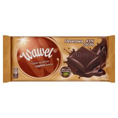 Wawel Czekolada deserowa 43% cocoa 100 g