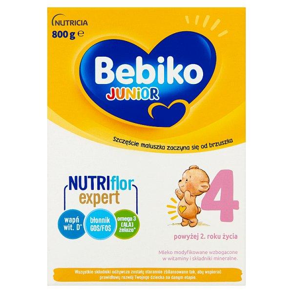 Bebiko Junior 4 Mleko modyfikowane dla dzieci powyżej 2. roku życia 800 g (2 x 400 g)