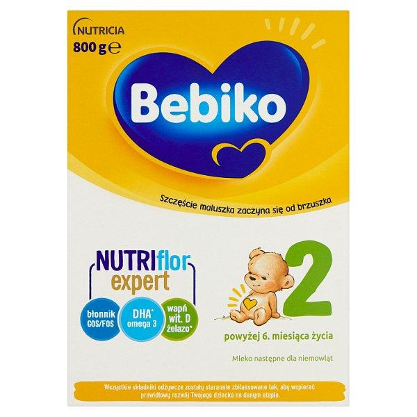 Bebiko 2 Mleko następne dla niemowląt powyżej 6. miesiąca życia 800 g (2 x 400 g)