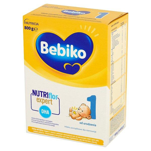 Bebiko 1 Mleko początkowe dla niemowląt od urodzenia 800 g (2 x 400 g)