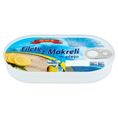 MK Filety z makreli w oleju 170 g