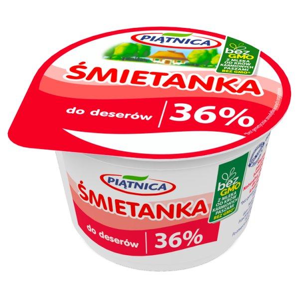 Śmietana Piątnica 36% do deserów