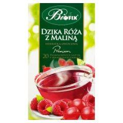 Bifix Premium dzika róża z maliną Herbatka owocowa 40 g (20 saszetek)