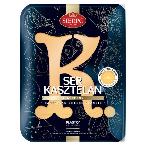 Sierpc Ser kasztelan klasyczny 150 g
