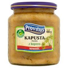 Provitus Kapusta młoda z koprem 480 g