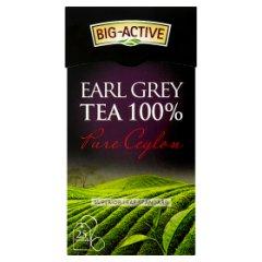 Big-Active Pure Ceylon Earl Grey Herbata 100% 50 g (25 torebek)