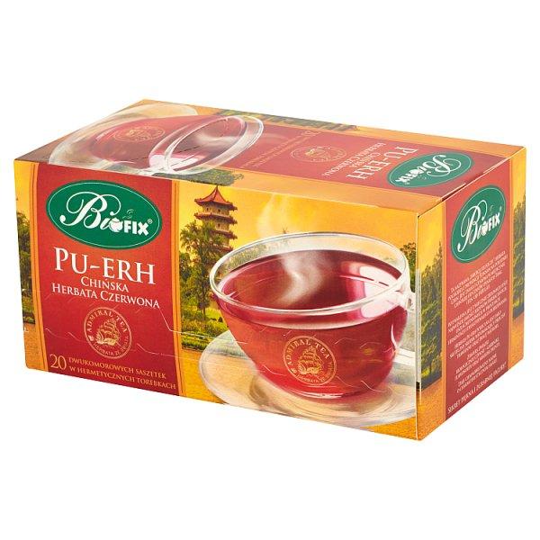 Bifix Admiral Tea Pu-Erh Chińska herbata czerwona 40 g (20 saszetek)