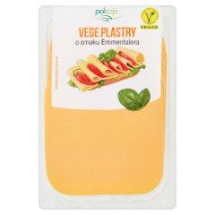 Polsoja Vege plastry o smaku Emmentalera 100 g