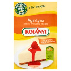 Kotányi Agartyna roślinna mieszanka żelująca 20 g