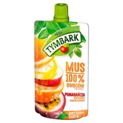 Tymbark Mus 100% pomarańcza marakuja jabłko banan 120 g