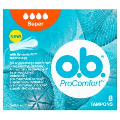 O.B. ProComfort Super Tampony 8 sztuk