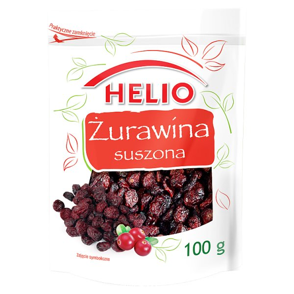 Helio Żurawina suszona 100 g