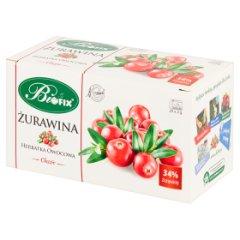 Bifix Classic Herbatka owocowa żurawina 50 g (25 x 2 g)