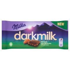 Milka Darkmilk Czekolada mleczna Almond 85 g