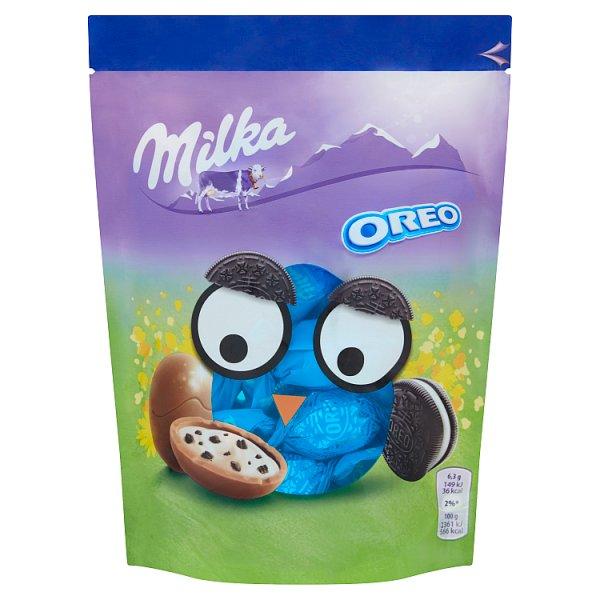 Milka Jajka z czekolady mlecznej Oreo 86 g