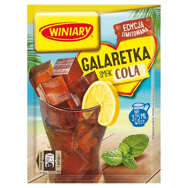 Winiary Galaretka smak cola 47 g