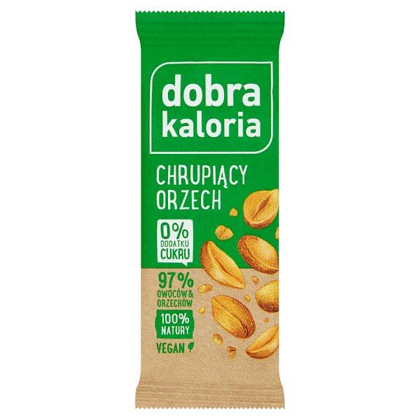Dobra Kaloria Baton owocowy chrupiący orzech 35 g